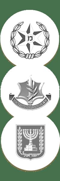 לוגואים משטרה, צבא